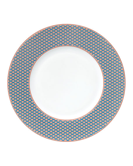 Hermès Tie Set Dinner Plate - Maillons Vagues