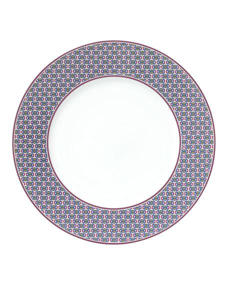 Hermès Tie Set Dessert Plate - Maille H