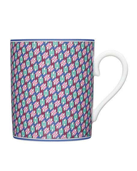 Hermès Tie Set Mug - H Cordeon