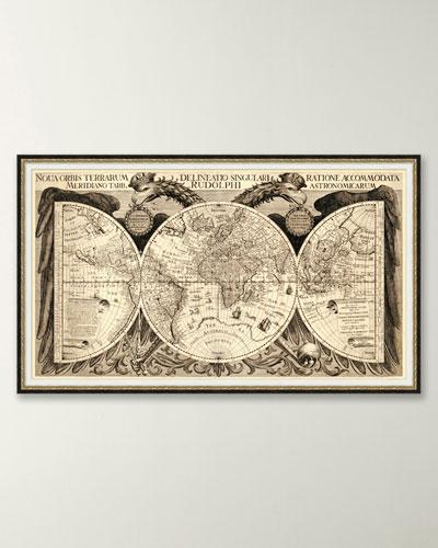 Sepia World Map