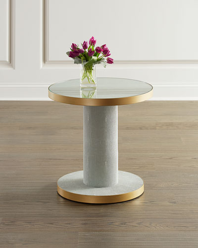 Gabriel Spool Side Table