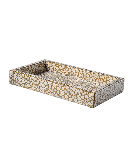 Mike & Ally Prosecco Small Tray Guest Towel Holder