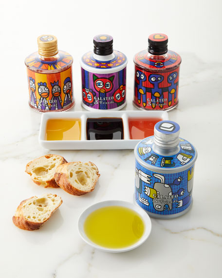 Galateo & Friends Carlo Volpi and Galateo and Friends Food For Fashion Capsule Collection 4-Piece Gift Set