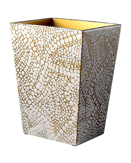 Mike & Ally Prosecco Wastebasket and Liner