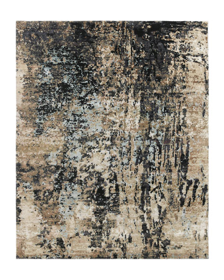 Yankee Hand-Knotted Rug, 6' x 9'