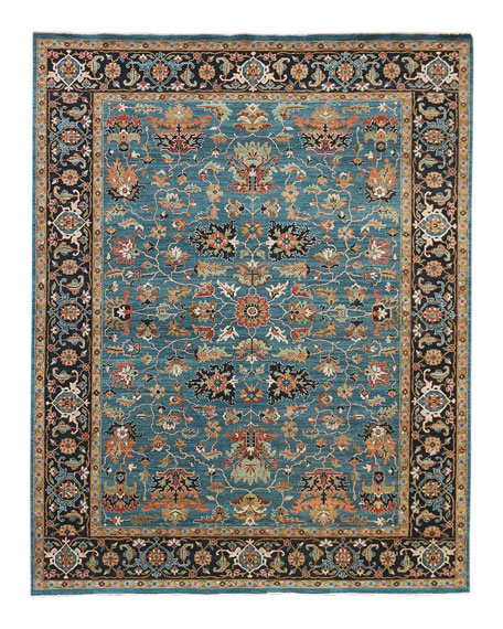 Hastings Hand-Knotted Runner, 2.6' x 10'