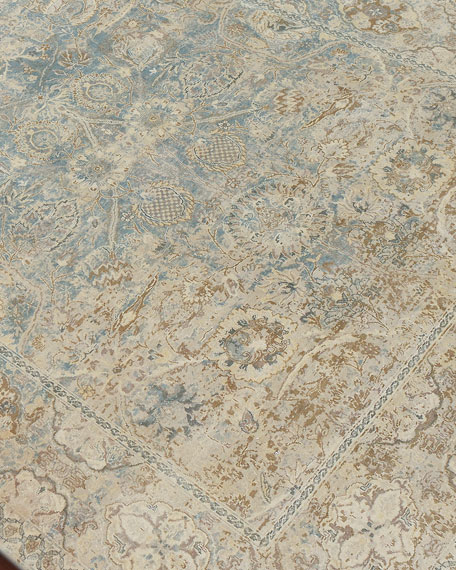 Fulton Hand-Knotted Rug, 6' x 9'