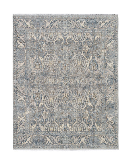 Dalton Hand-Knotted Rug, 10' x 14'