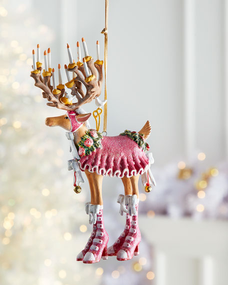 Image 2 of 2: Patience Brewster Dash Away Donna Reindeer Ornament