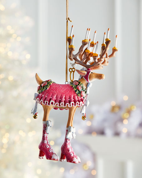 Image 1 of 2: Patience Brewster Dash Away Donna Reindeer Ornament