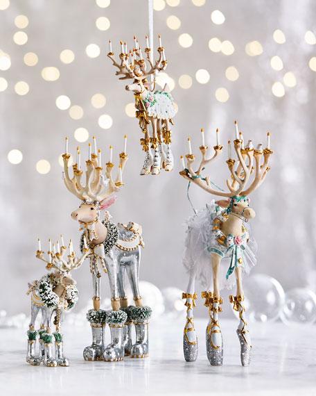Patience Brewster Moonbeam Comet Reindeer Figurine