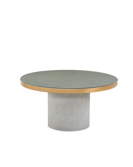 Interlude Home Gabriel Grand Spool Dining Table