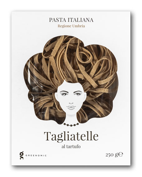 Image 1 of 1: Good Hair Day Tagliatelle al tartufo Pasta, 8.82 oz./ 250 g