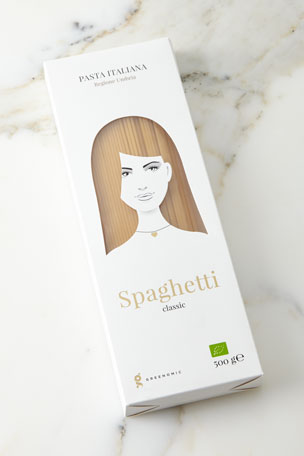 Greenomic Good Hair Day Pasta BIO Spaghetti Classic, 500g