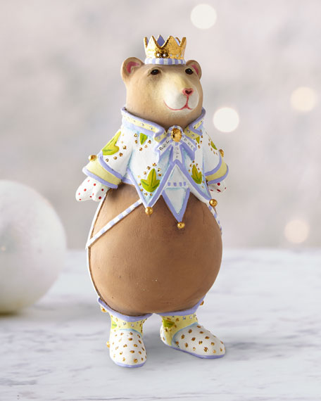 Patience Brewster Victoria Bear Ornament