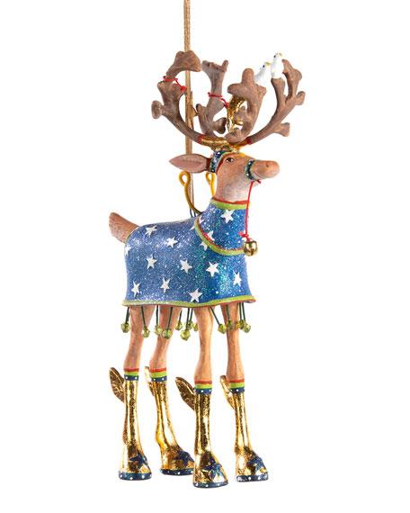 Patience Brewster Dash Away Comet Reindeer Ornament