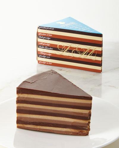 Ottavio Slice of Millestrati - 12 Layer Chocolate Cake