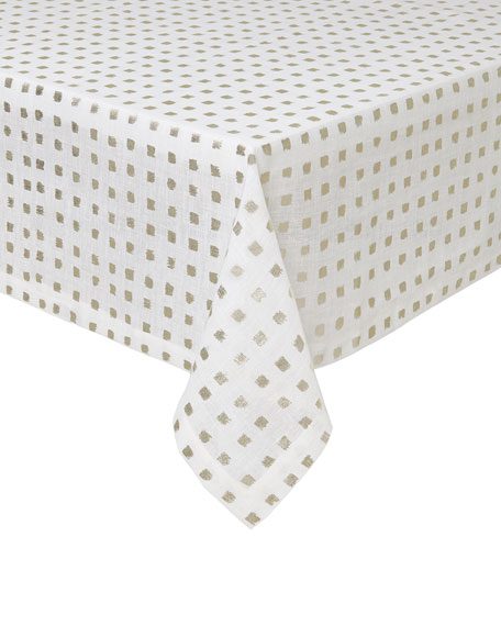 """Mode Living Antibes Tablecloth, 66"""" x 128"""""""