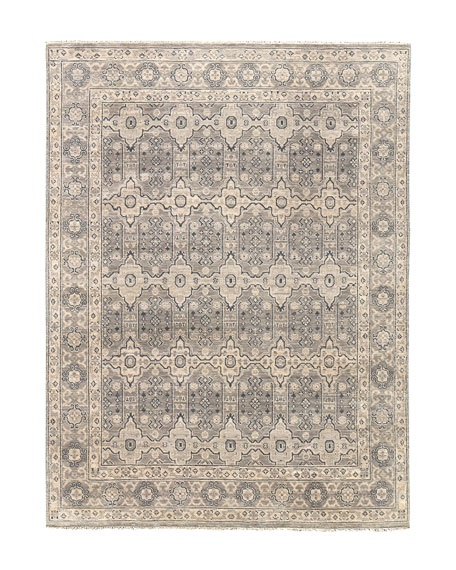 Dayton Hand-Knotted Rug, 8' x 10'