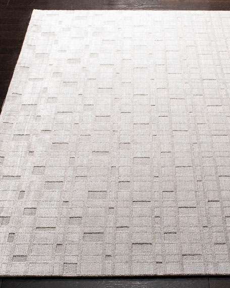 Safavieh White Rock Hand-Loomed Rug, 6' x 9'