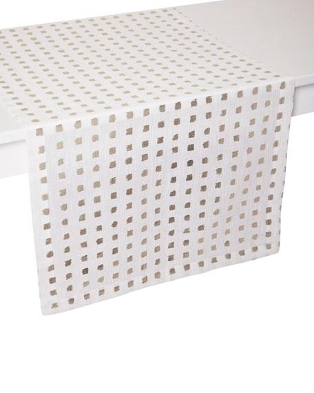 """Mode Living Antibes Table Runner, 16"""" x 108"""""""