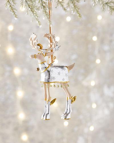 Moonbeam Comet Reindeer Ornament