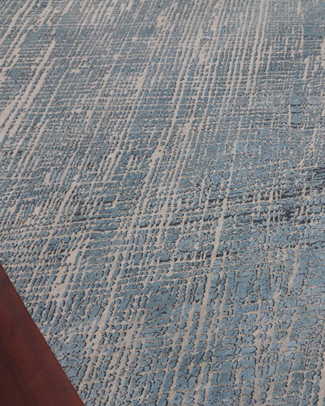 William Hand-Knotted Rug, 8' x 10'