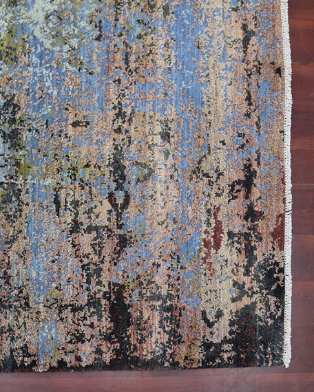 Amancio Hand-Knotted Rug, 6' x 9'
