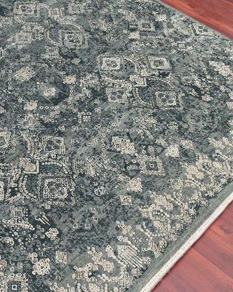 Quinton Hand-Knotted Rug, 10' x 14'