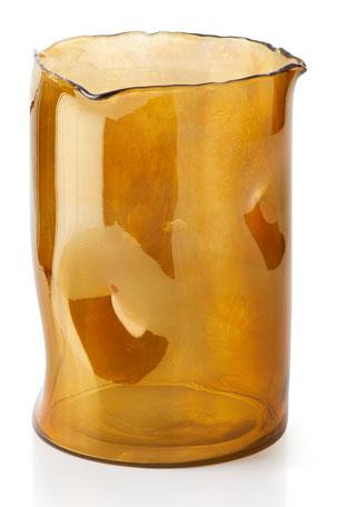 Artisanal Vase, Amber