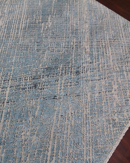 William Hand-Knotted Rug, 9' x 12'