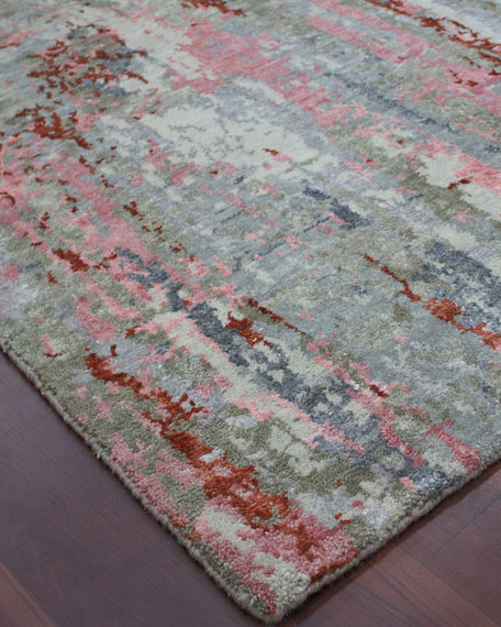 Calvin Hand-Knotted Rug, 6' x 9'