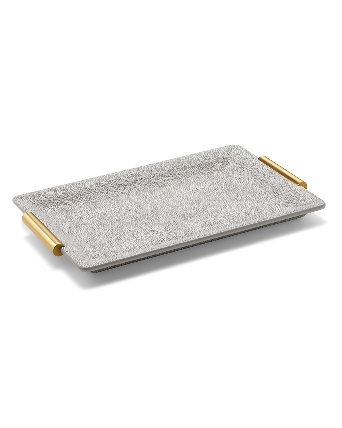 AERIN Shagreen Small Vanity Tray