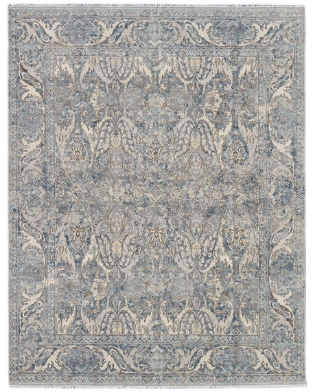 Dalton Hand-Knotted Rug, 6' x 9'