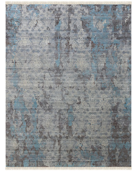 Halthom Hand-Knotted Rug, 9' x 12'