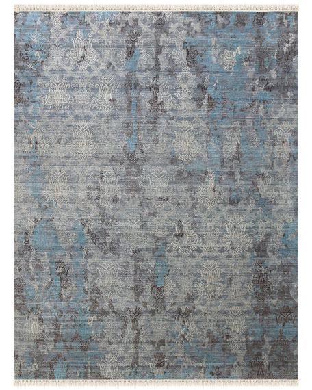 Halthom Hand-Knotted Rug, 8' x 10'