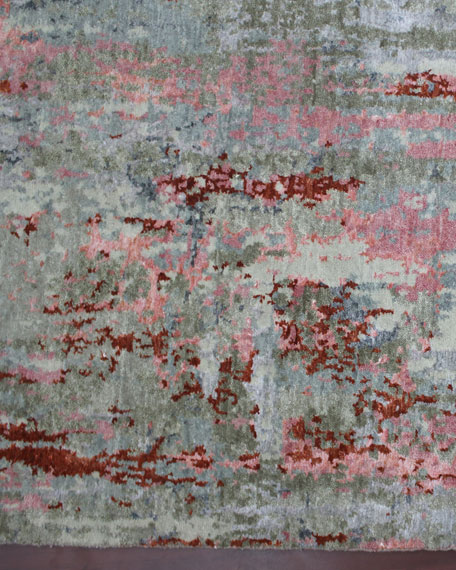 Calvin Hand-Knotted Rug, 10' x 14'