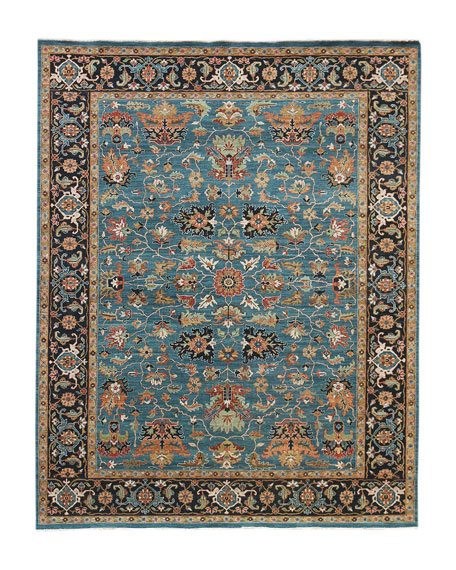 Hastings Hand-Knotted Rug, 6' x 9'