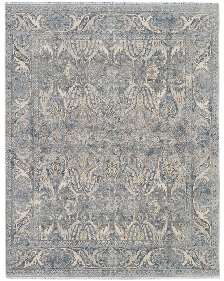 Dalton Hand-Knotted Rug, 9' x 12'