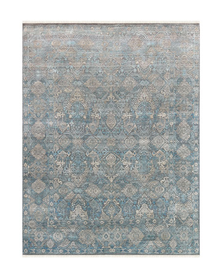 Lawrence Hand-Knotted Rug, 6' x 9'