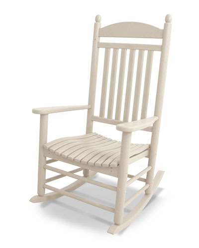 All-Weather Traditional Rocking Chair  Sand