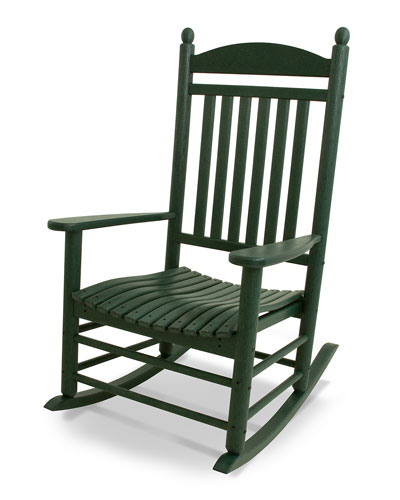 All-Weather Traditional Rocking Chair  Green