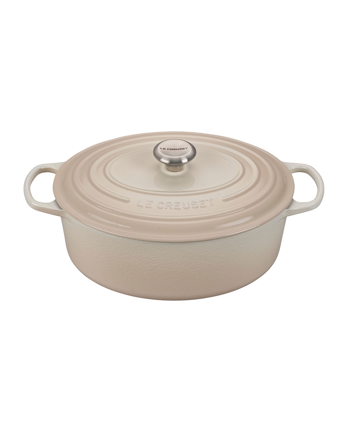 Le Creuset Lifetime Guarantee: Le Creuset Signature Oval 6.75-Quart Dutch Oven