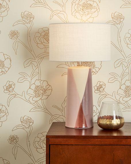 Tempaper Peonies Removable Wallpaper