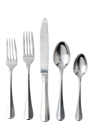 Juliska Bistro Bright Satin 20-piece Flatware Set