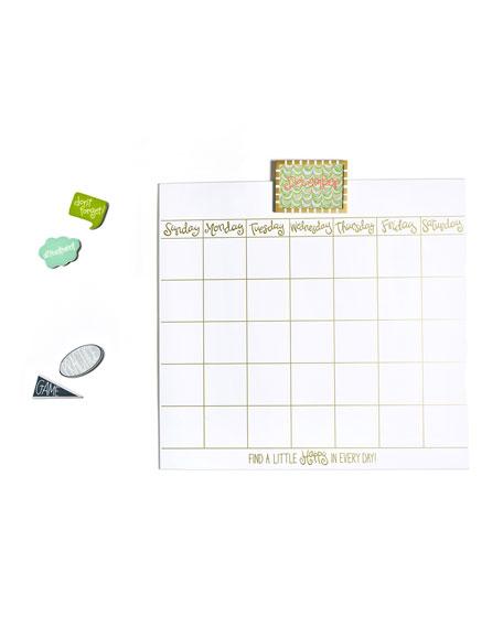 Coton Colors Magnetic Dry Erase Wall Calendar