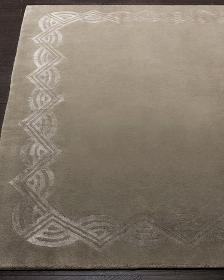 Ralph Lauren Home Dufrene Sterling Hand-Knotted Rug, 9' x 12'