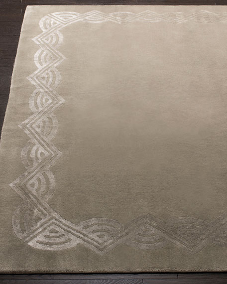 Ralph Lauren Home Dufrene Sterling Hand-Knotted Rug, 6' x 9'