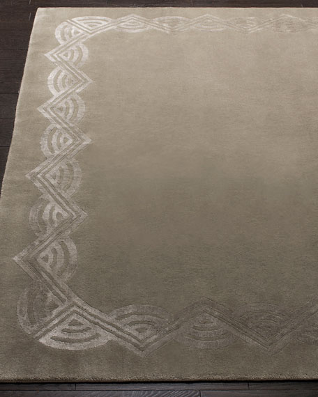 Ralph Lauren Home Dufrene Sterling Hand-Knotted Rug, 8' x 10'
