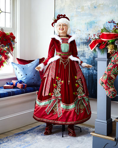 Life-Size Mrs. Claus Doll